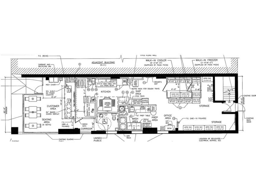 Restaurant blueprints joy studio design gallery best for Blueprints of restaurant kitchen designs