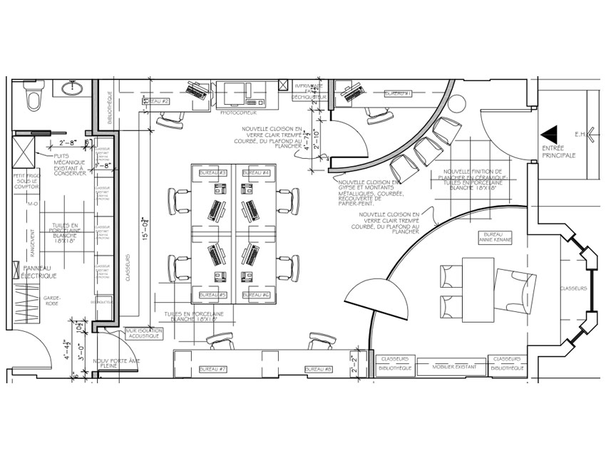 modern office layout plans - office designs
